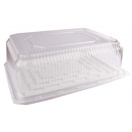 Одноразовый контейнер для торта 35см с крышкой 35*24*12см SL-214 ВW + 214 Т