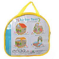 Палатка MR 0010 (8шт) домик, 80-100-110см, 2входа на липучке, в сумке, 36-35-4см
