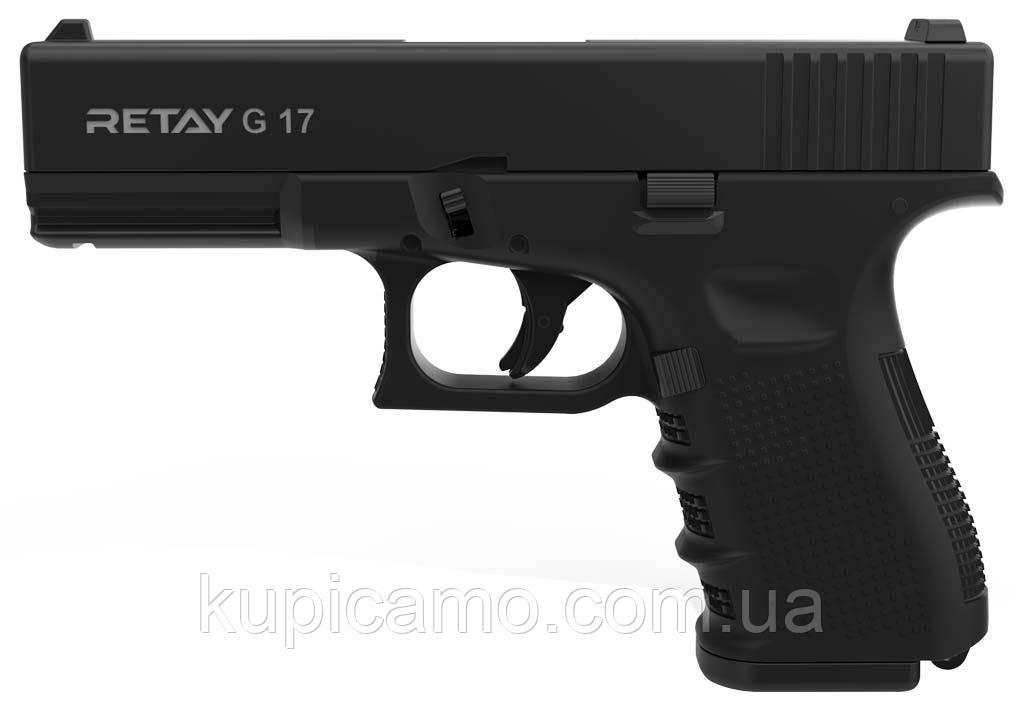 Шумовой пистолет Retay Arms G17 Black