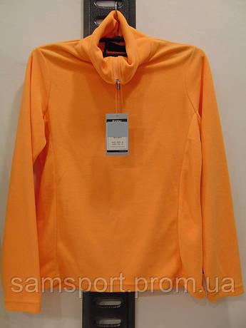 """Оранжевая женская спортивная кофта фирмы Killtec """"Morgan""""."""