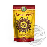 """Кофе натуральный растворимый сублимированный  """"BRAZIL`ERO™"""" Premium, 70 г"""