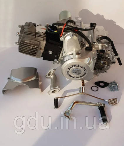 Двигатель 110 см3 Альфа, Дельта (механика)