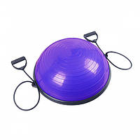 Балансировочная платформа Sport Shiny Bosu Ball 60 см, фиолетовый