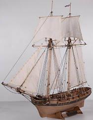 Шхуна Полоцьк Плюс 1788 рік, масштаб 1:72 Росія (MK0302-PLUS)