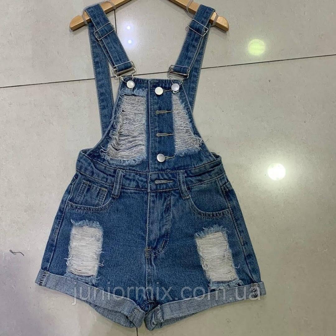 Дитячі джинсові шорти комбінезони для дівчаток Італія
