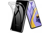 Прозрачный силиконовый чехол Samsung Galaxy A51 (2020)