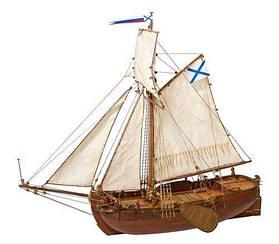Бот Святой Гавриил (со шлюпкой) Мастер корабел 1:72 (МК0301Р)