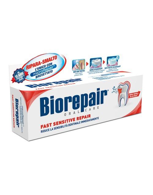 Зубная паста «Быстрое избавление чувствительности» Biorepair 75 мл