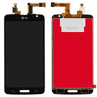 Дисплейный модуль (дисплей + сенсор) для LG Optimus G Pro Lite D680 / D682, черный, оригинал