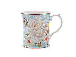Чашка фарфоровая, подарочная Райский сад 400 мл 924-537