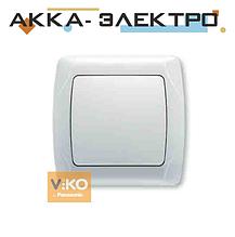 Вимикач 1-кл. білий ViKO Carmen 90561001