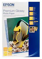 Фотобумага Epson, глянцевая, A6 (10x15), 255 г/м2, 50 листов, Premium Series (C13S041729)