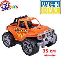 Игрушка внедорожник оранжевый (3466), Технок