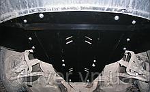 Захист двигуна Audi A6 C6 2004-2011 2.0 бенз (Двигун + КПП+радіатор), сталь 2 мм