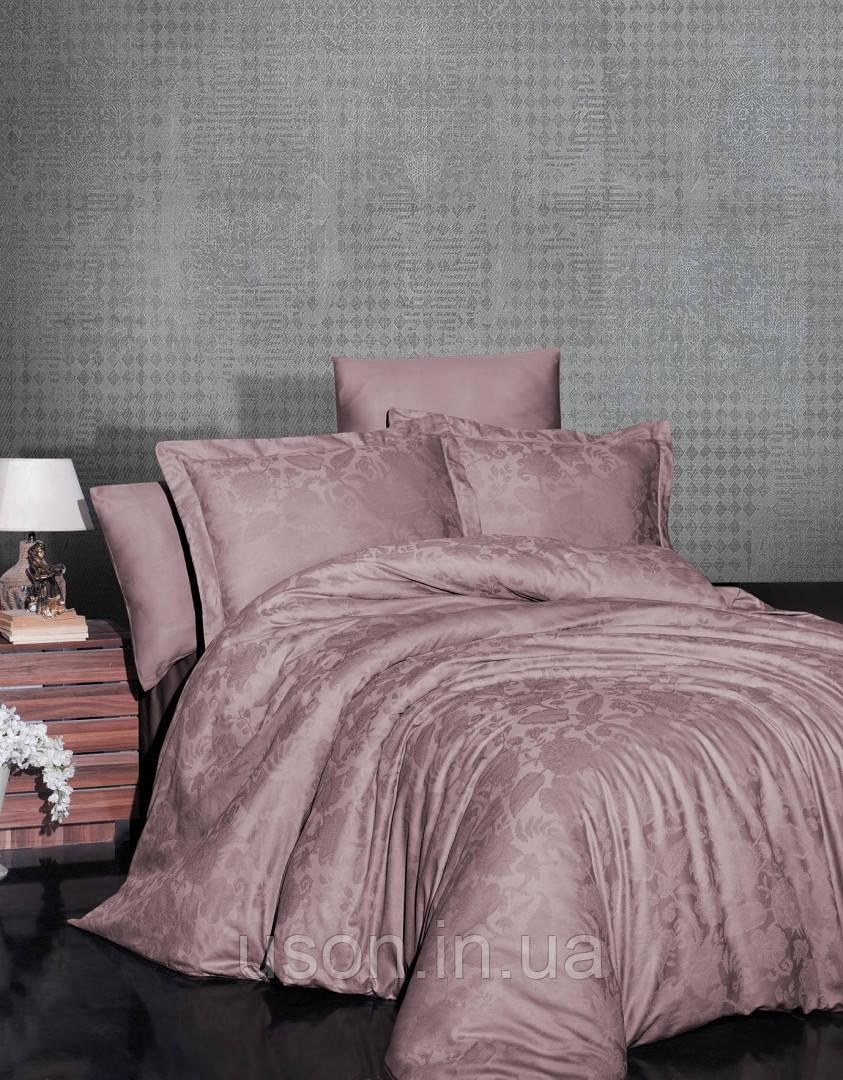 Комплект  постельного белья  жаккард TM First Choice  Saral pudra