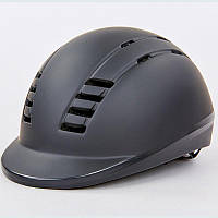 Шлем для верховой езды MS06 (PC, р-р M-L (55-61), черный)