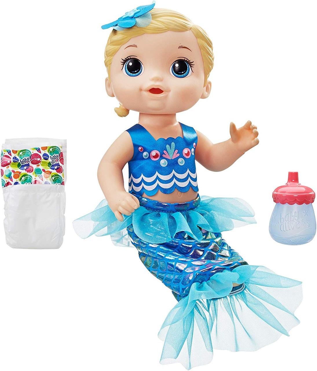 Кукла Мерцающая Русалочка Беби Элайв Baby Alive Shimmer Splash Mermaid
