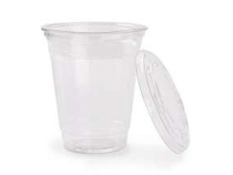 Одноразовый стакан с крышкой 500 мл, 1000 шт