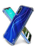 Противоударный силиконовый чехол Shock Xiaomi Mi CC9e/Mi A3 Прозрачный