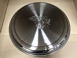 Поднос круглый из нержавеющей стали Виноград d 37,5 см, фото 2