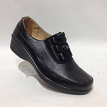 38,42 р. Жіночі весняні туфлі на гумці з затяжками на середню і широку ногу