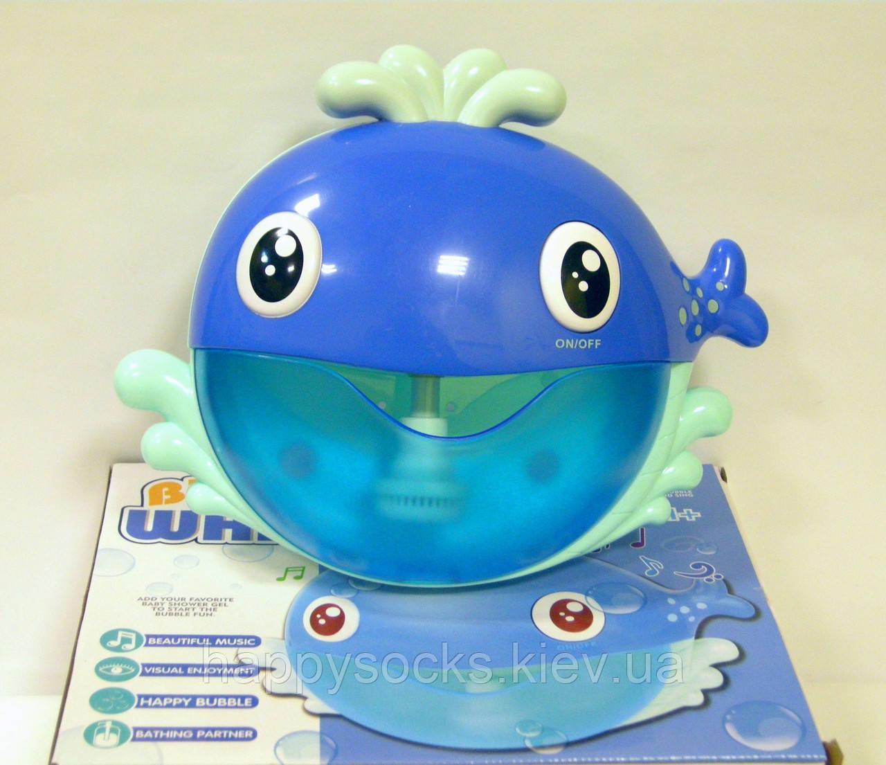 Музыкальная игрушка для ванной Кит