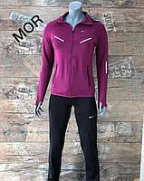 Женский спортивный костюм Nike малина. Жіночий спортивний костюм Nike малина