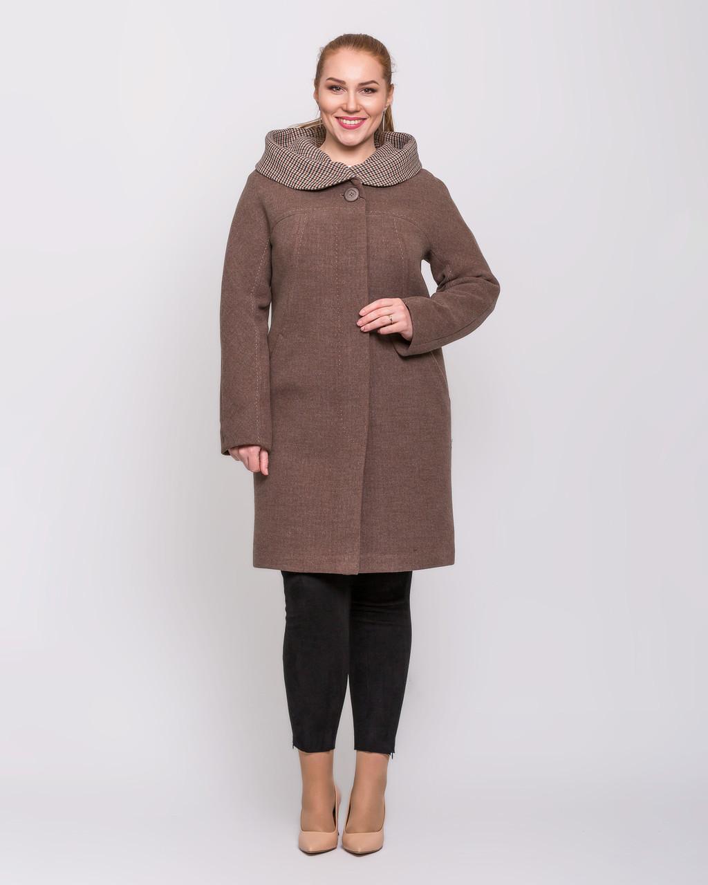 Пальто з капюшоном з 50 по 58 р. Весна 2020