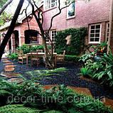 Гравій кольоровий (білий) декоративний для саду , пофарбована річкова галька (4566745345), фото 7