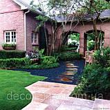 Гравій кольоровий (білий) декоративний для саду , пофарбована річкова галька (4566745345), фото 9