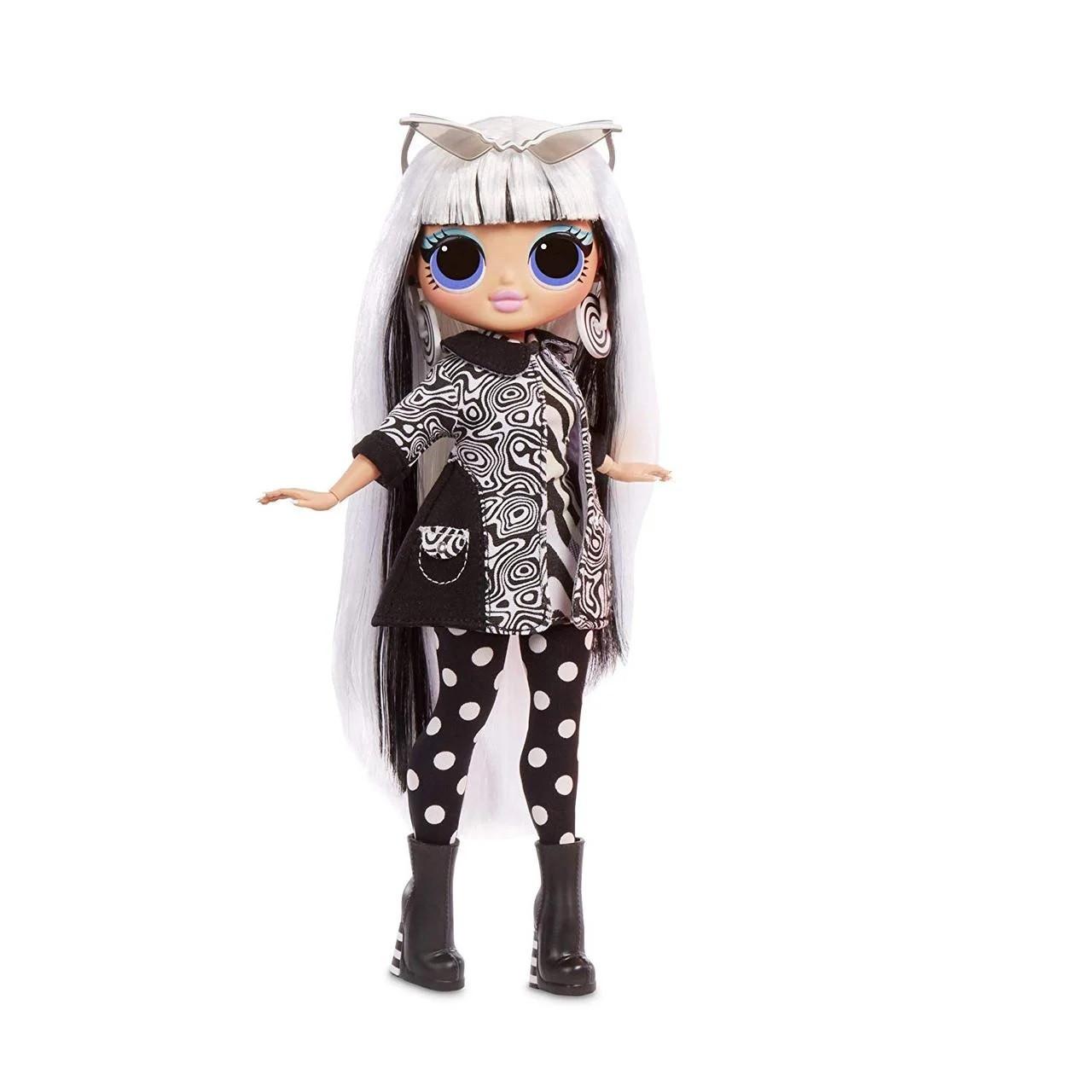 L.O.L. Surprise! OMG Lights - Groovy Babe Fashion Doll with 15 Surprises (Прекрасная Леди), 6+ (565154)