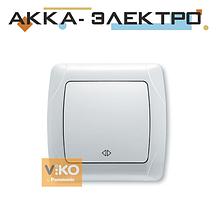 Вимикач 1-кл. реверсивний білий ViKO Carmen 90561031