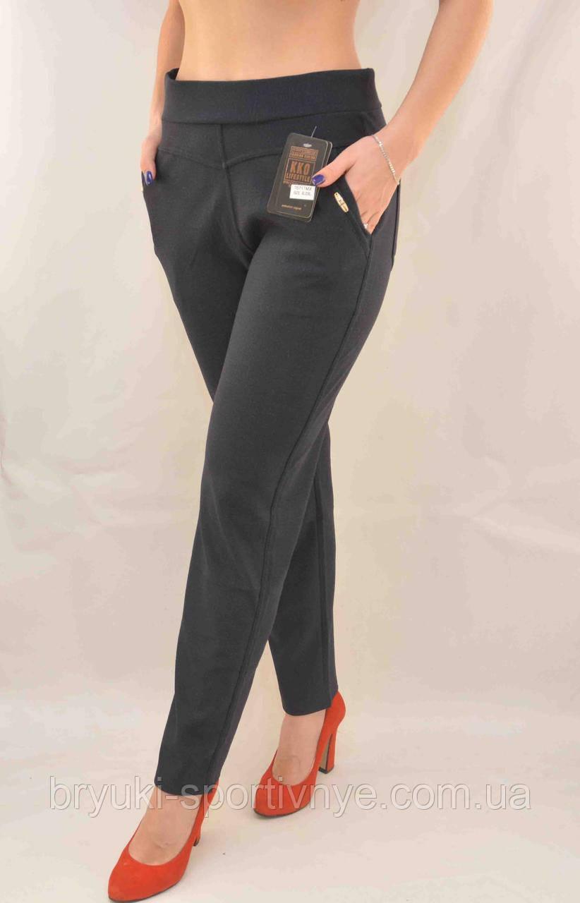 Брюки - леггинсы женские с карманами в больших размерах XL - 8XL Лосины с карманами (Польша)