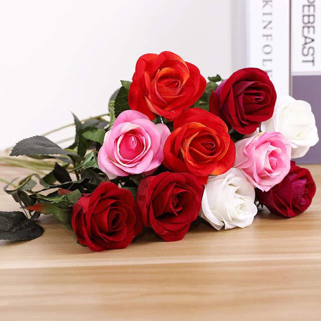 Искусственная роза ( 65 см)