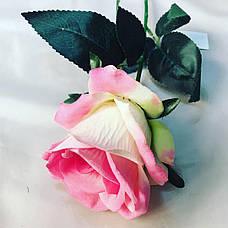 Искусственная роза ( 65 см), фото 2