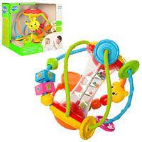 Погремушка логика Hola Детская для новорожденных, развивающая игрушка для младенца