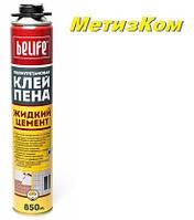 Профессиональная монтажная клей-пена Belife PRO-FC950 (жидкий цемент)