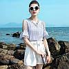 Жіночна блузка з трикутним вирізом 42-44 (в кольорах), фото 3