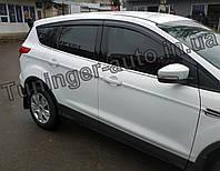 Ветровики, дефлекторы окон Ford Kuga/Escape 2013-2019 6шт. (Autoclover/D084/Корея)