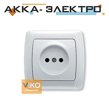 Розетка без заземлення біла ViKO Carmen 90561007
