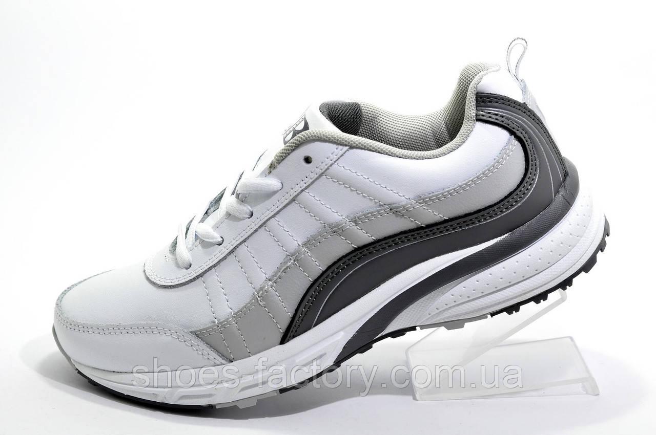 Женские кроссовки Bona 2020 White\Gray, Кожаные (Бона)