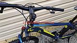 "Велосипед CAMARO Blaze 27,5 синий рама 17"", фото 6"