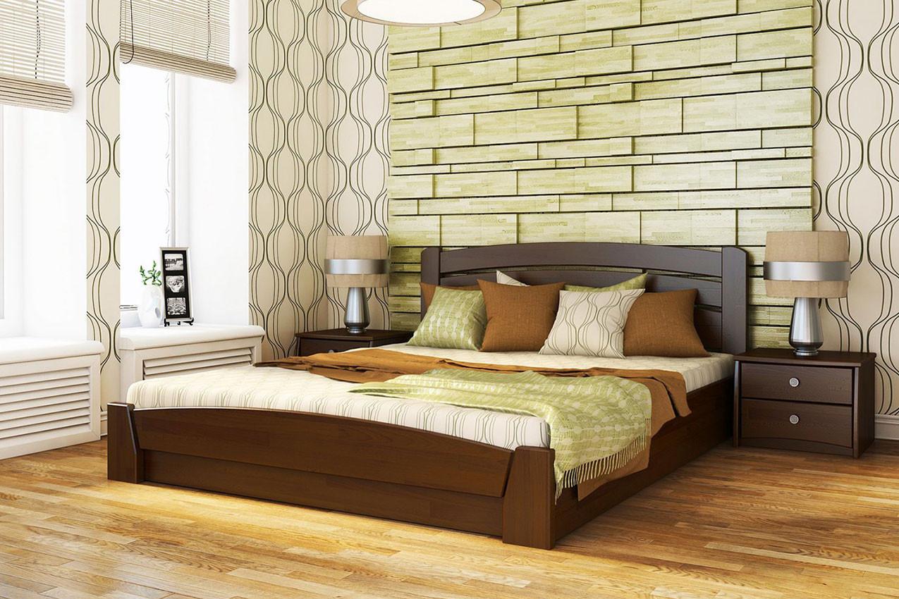 Кровать деревянная Селена Аури ТМ Эстелла