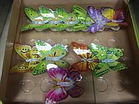 Светильник бабочка с цветной подсветкой(большая) 10х10х5 см
