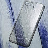 Силіконовий чохол блискучий Star Apple iPhone 7 Plus/8 Plus Прозорий
