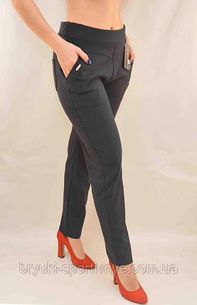 Брюки - леггинсы женские с карманами в больших размерах  XL/2XL Лосины с карманами (Польша), фото 2
