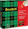 3М Scotch Crystal клейкая клента  19мм х 33 м, фото 3