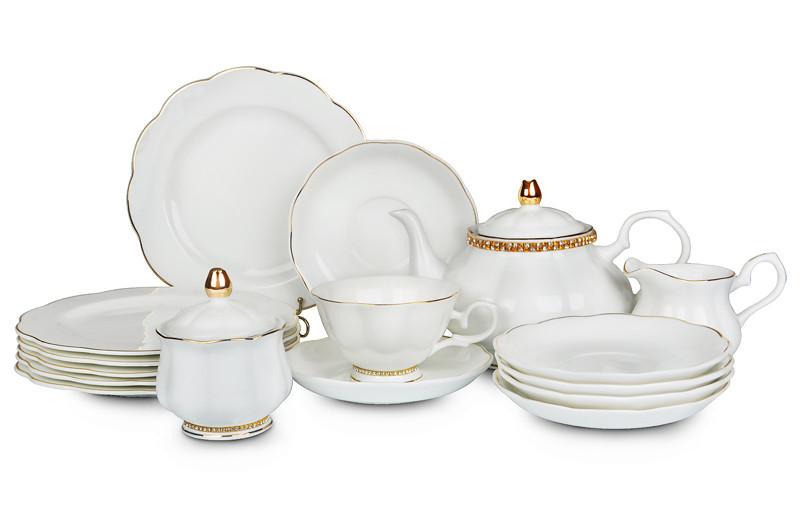 Столовый чайный сервиз Lefard 22 пред 86-1563 набор столовой посуды