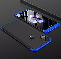 Противоударный чехол Full Cover GKK для Xiaomi Redmi Note 5 / 5 Pro защита 360 на сяоми редми ноте нот 5