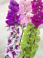 Искусственная орхидея.Ветка декоративной орхидеи.Орхидея латексная (95 см)